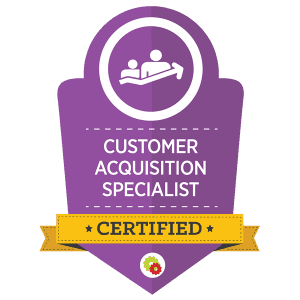 Desiree Horsey's Customer Acquisition Specialist Certification Badge