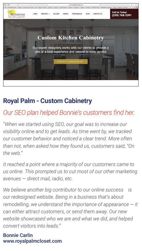 Royal Palm Website